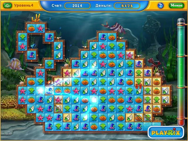 Игра Фишдом fishdom seasons under the sea screenshot0 картинка